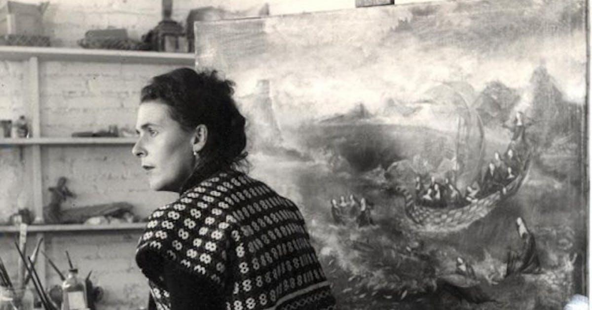 joanna moorhead  the surreal life of leonora carrington