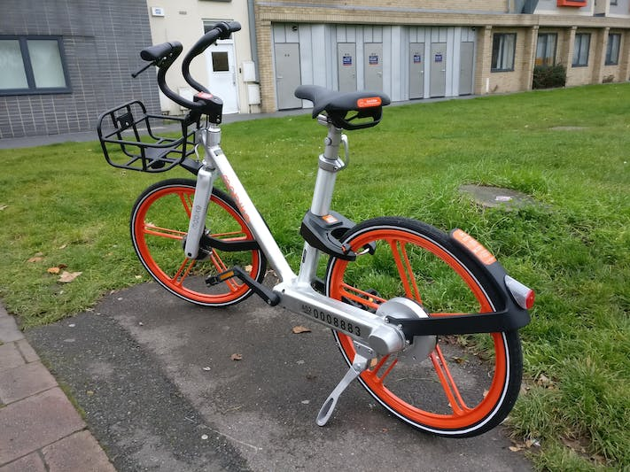 Mobike's single speed shaft-driven bike
