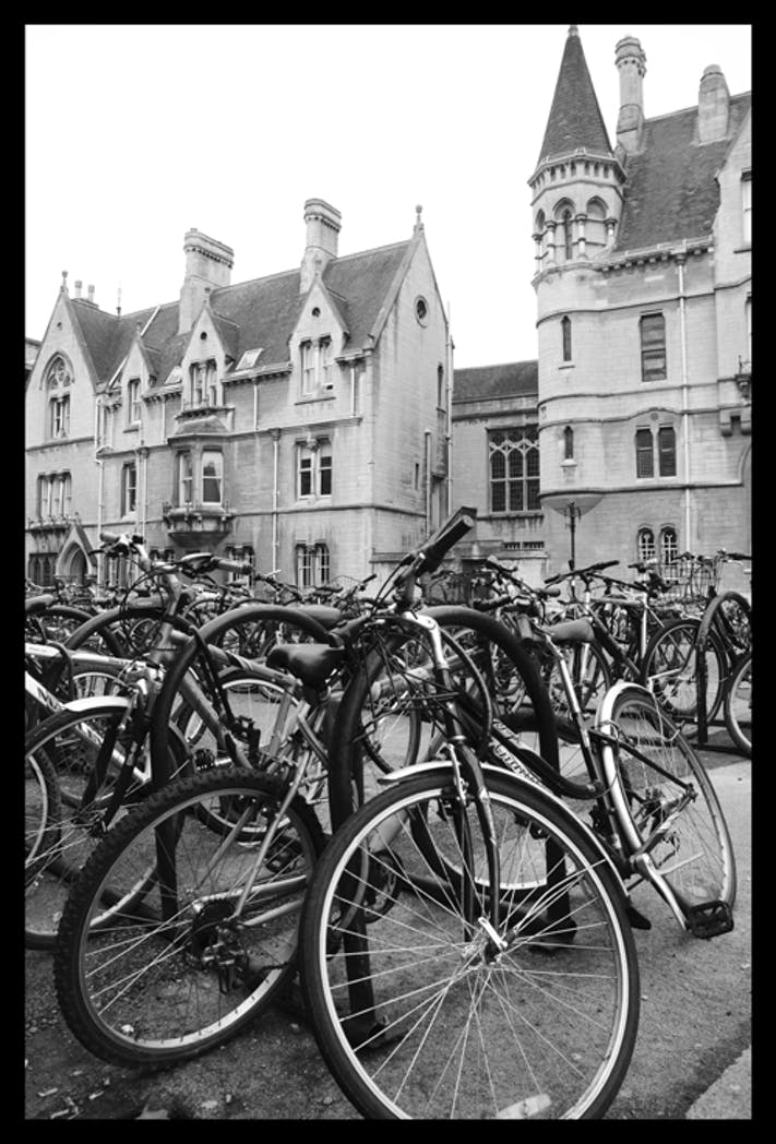 Bicycles by Jasmina Stirling