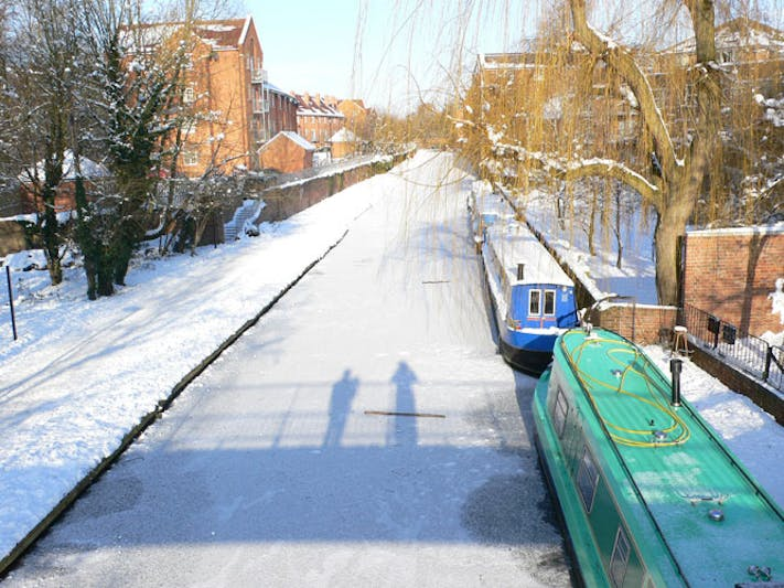 Oxford Canal at Osney by Deborah Henderson