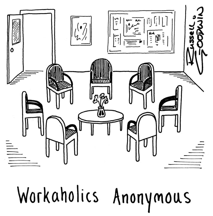 Russell Goodwin: Workaholics Anonymous