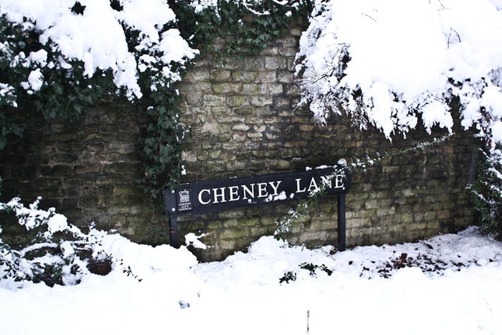 Cheney Lane by Shyne Devasia Kochuveed