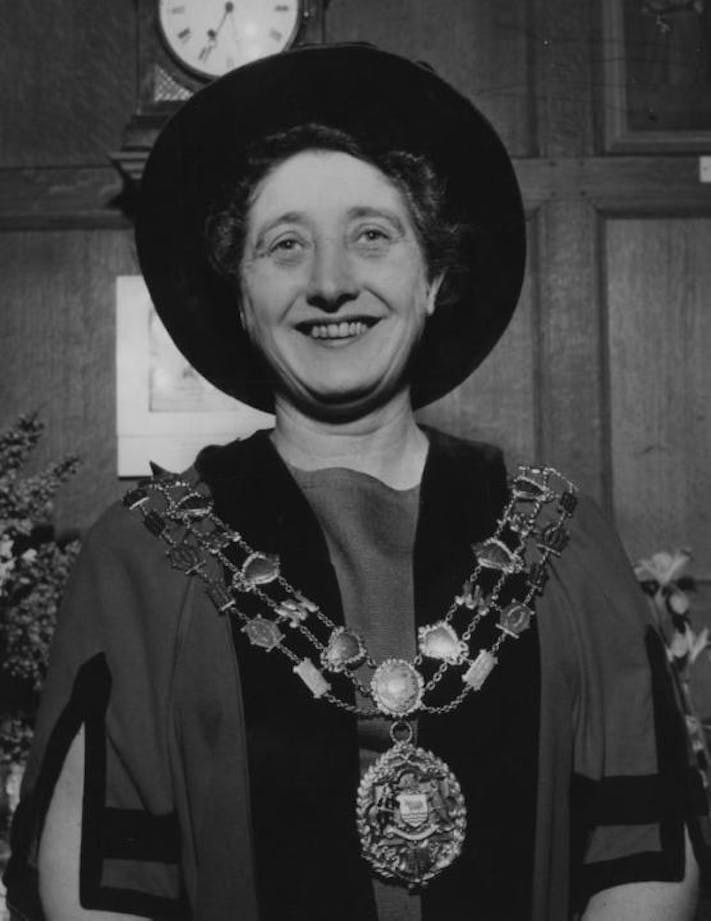Olive Gibbs, former Lord Mayor of Oxford and first female chair of Oxford City Council