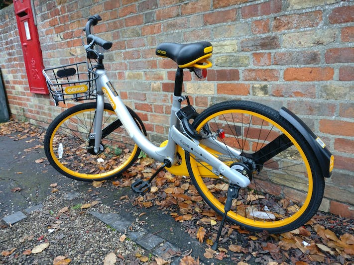oBike's single-speed by The Magdalen Arms