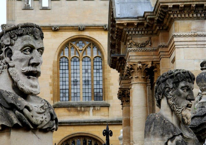 Sheldonian Heads by Lesli Lundgren