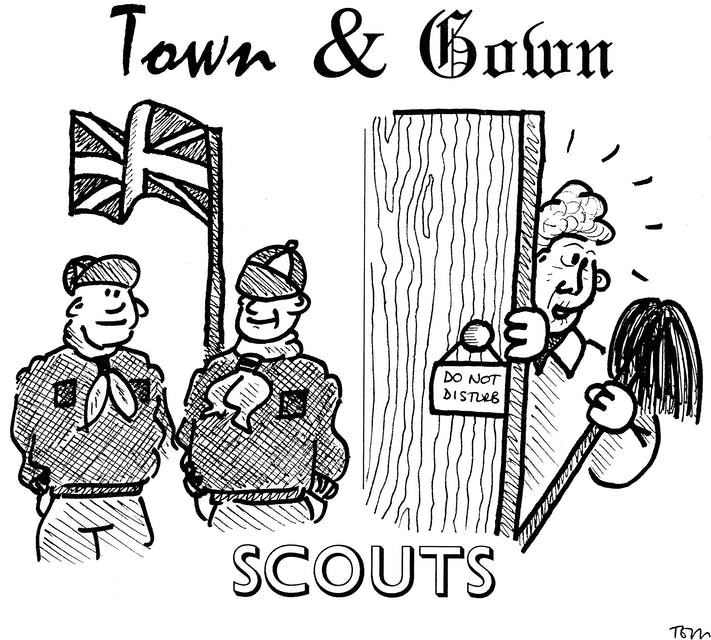 Town and Gown: Scouts