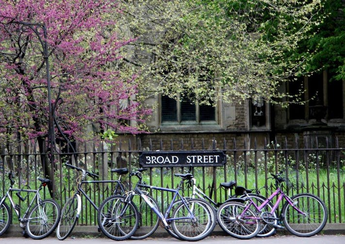 Bikes on Broad Street by Lesli Lundgren
