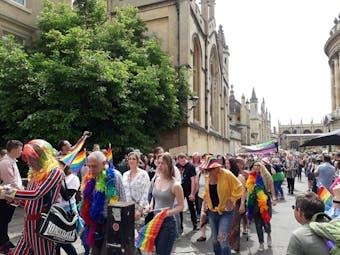 Last year's Pride march