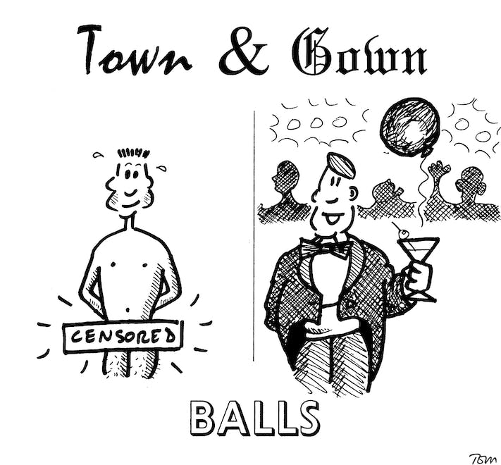 Town and Gown: Balls