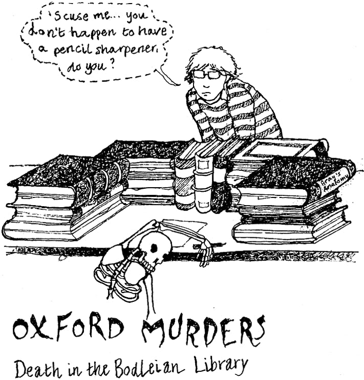 Oxford Murders: Death in the Bodleian