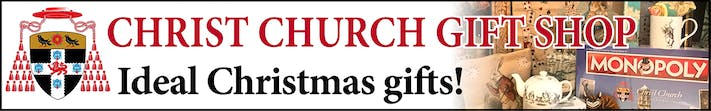 Christ Church Gift Shop - Ideal Christmas gifts! Delivery or collection. 10% off first purchase.