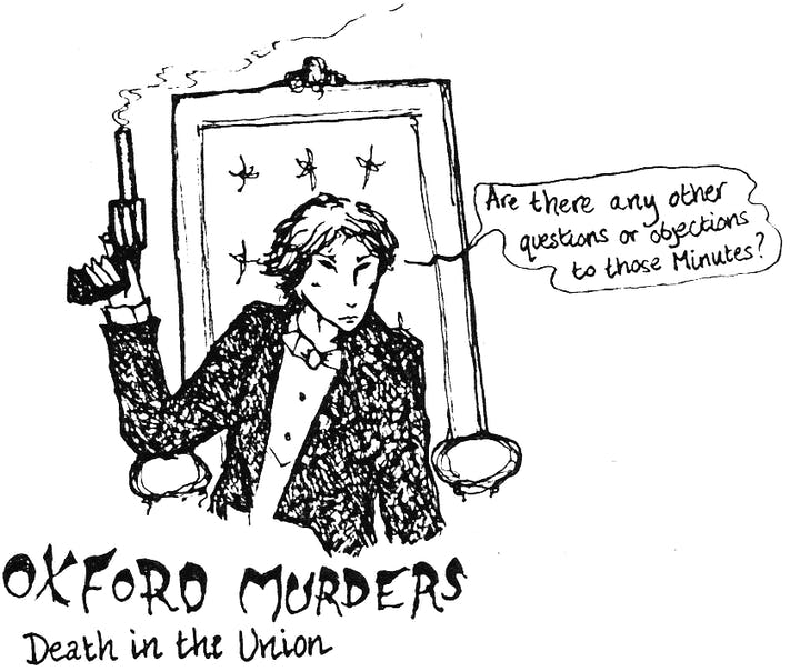 Oxford Murders: Death in the Union