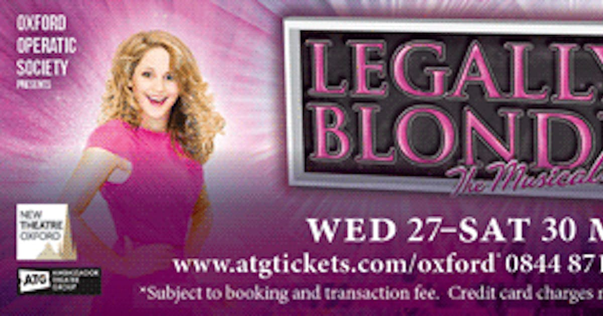 legally blonde - oxford operatic society