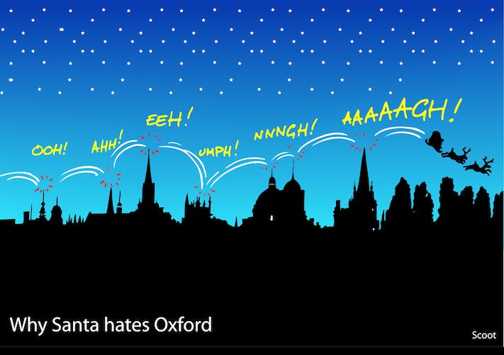 Scoot: Why Santa Hates Oxford