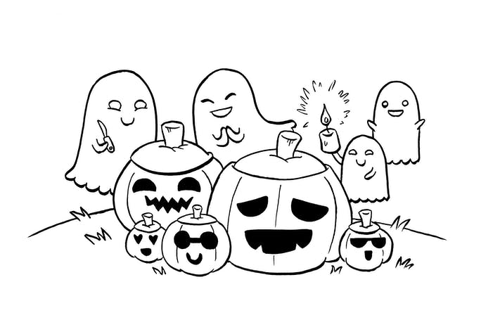 Rachael Smith: Ghost Pumpkin Party